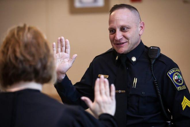 Police Sgt. Ed Burman is Ashland's point man on COVID-19 response.
