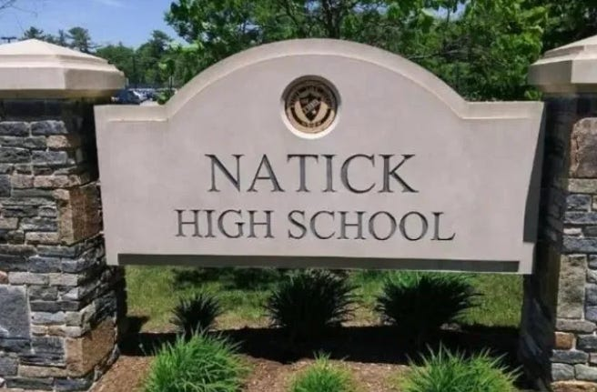 """Pool testing"" of Natick students, including those at Natick High School, could start this month."