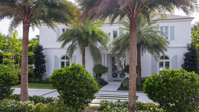 At 140 Kings Road in Palm Beach's Estate Section, a British colonial-style house that sold new for $8.42 million in October has been resold for a $11.5 million, according to the prices recorded with the deeds.
