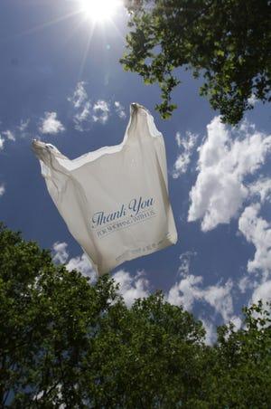 PROVIDENCE, RI --  06/2/2017   Plastic shopping bag in the wind. Journal photo illustration