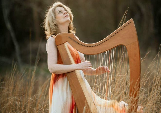 Valentine's concert online via the Blackstone River Theatre with Celtic harpist and singer Áine Minogue performing on Saturday, Feb. 13.