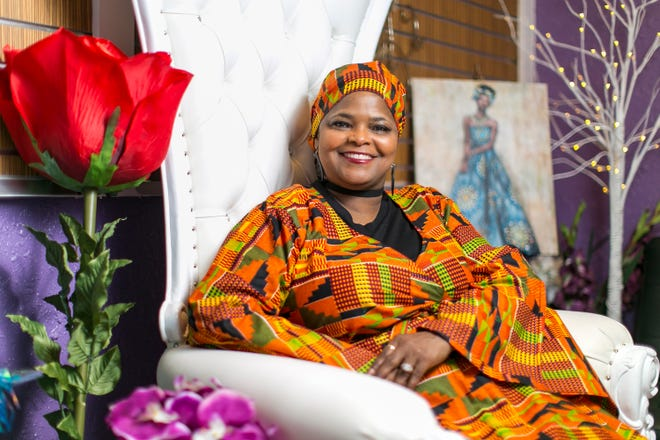 """Janene Stephenson, owner of JS Event Design Studio and Social Cafe in Rockford, has organized a """"Buy Black Weekend Pop UP Shop"""" event series throughout February for Black History Month."""