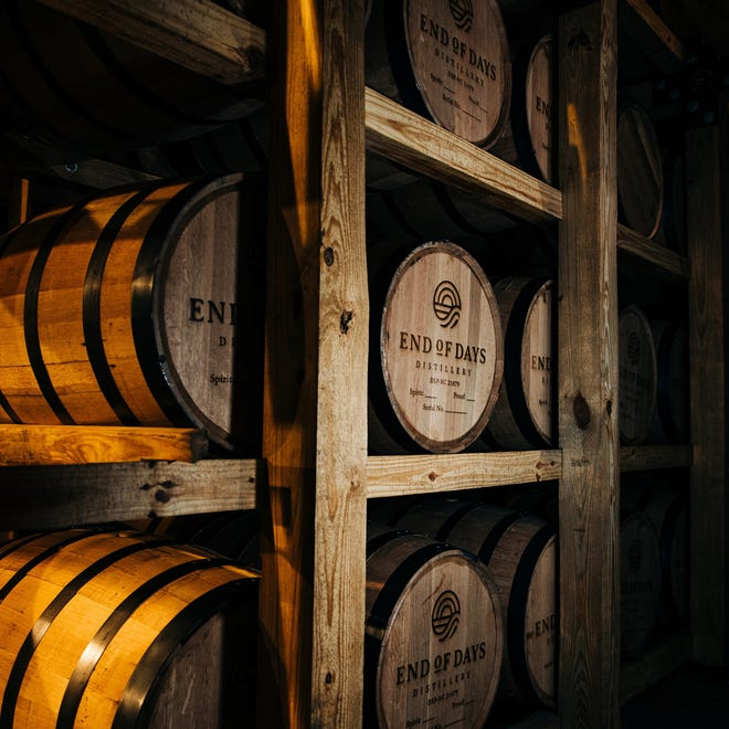 End of Days Distillery in Wilmington has also been working on a bourbon, which they hope to release later this year.