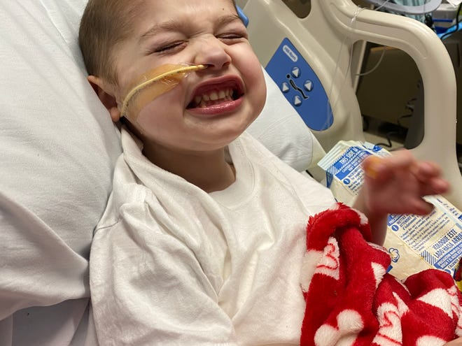 Finnley Silva of Taunton is 4 years old and needs a heart transplant.