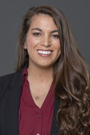 Worcester State graduate Marissa Avanzato handles the volleyball and softball publicity at Texas A&M.