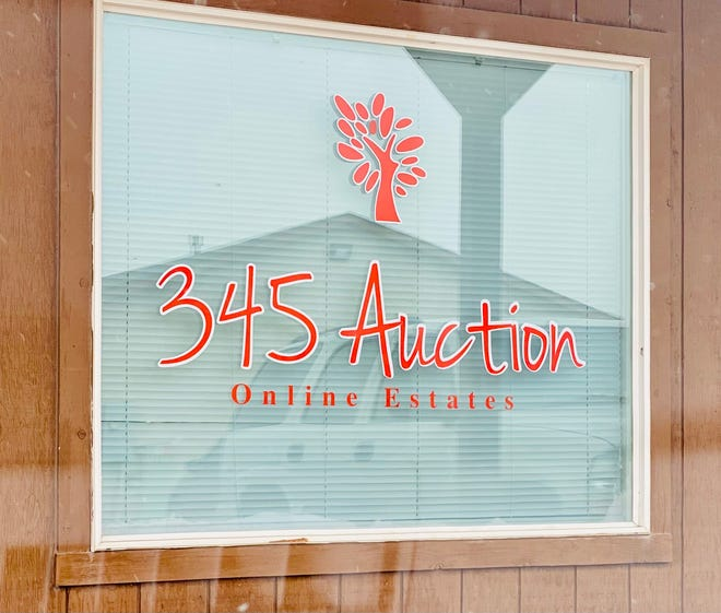 Georgia and Neil Enslow's business, 345 Auction,  is located at 448 S McCulloch Blvd.