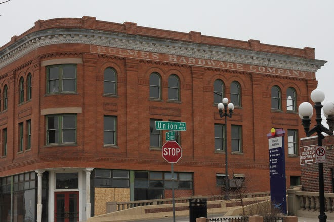 The Holmes Hardware Company building is one of several businesses eligible for tax incentives along Union Avenue. The developers working on the building signed an agreement with the city allowing tax monies to be given to the business once construction is complete.