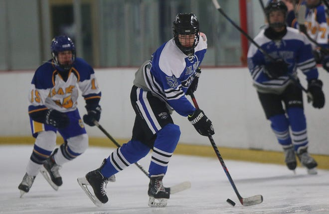 Nick Siler and Kilbourne open the district tournament Feb. 20 with a first-round game against Gahanna at OhioHealth Ice Haus.
