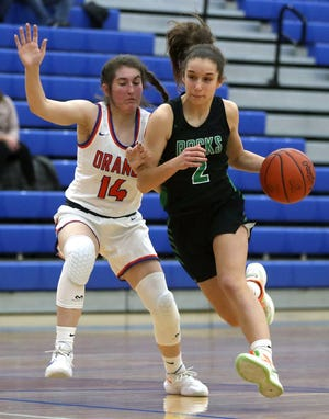 Coffman's Taylor Covington had 10 points in a 59-35 victory over Hilliard Bradley on Feb. 9 that clinched a sixth consecutive league title for the Shamrocks, who are seeded second for the Division I district tournament.