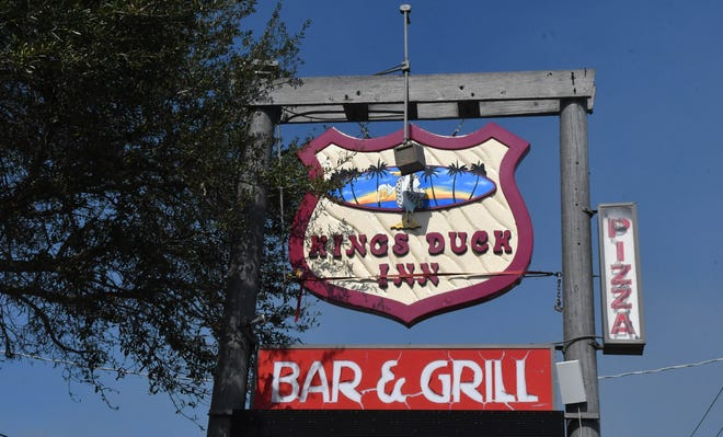 An outdoor auction was held on February 9, 2021, for the King's Duck Inn in north Merritt Island.Blue Marlin Real Estate and Garner Auctions, Inc. handled the sale.