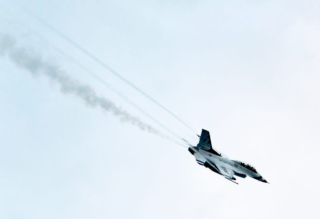 The U.S. Air Force Thunderbirds will participate in the Cocoa Beach Air Show April 17-18.