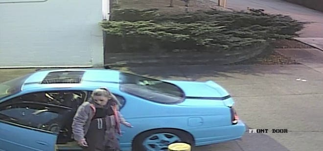 Blue Ash police are searching for suspects involved in the theft on a U-Haul last month.