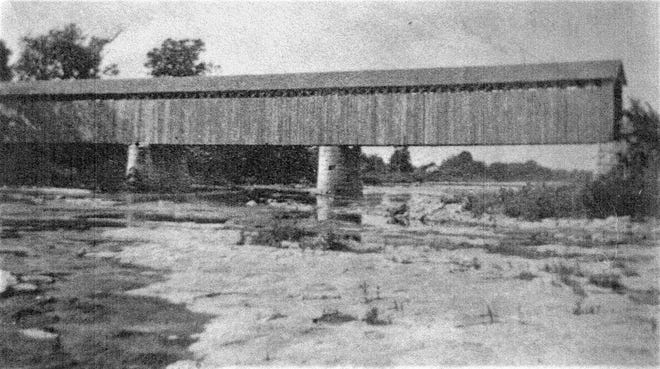 The Tindall Bridge dates back to 1899 as a covered bridge.