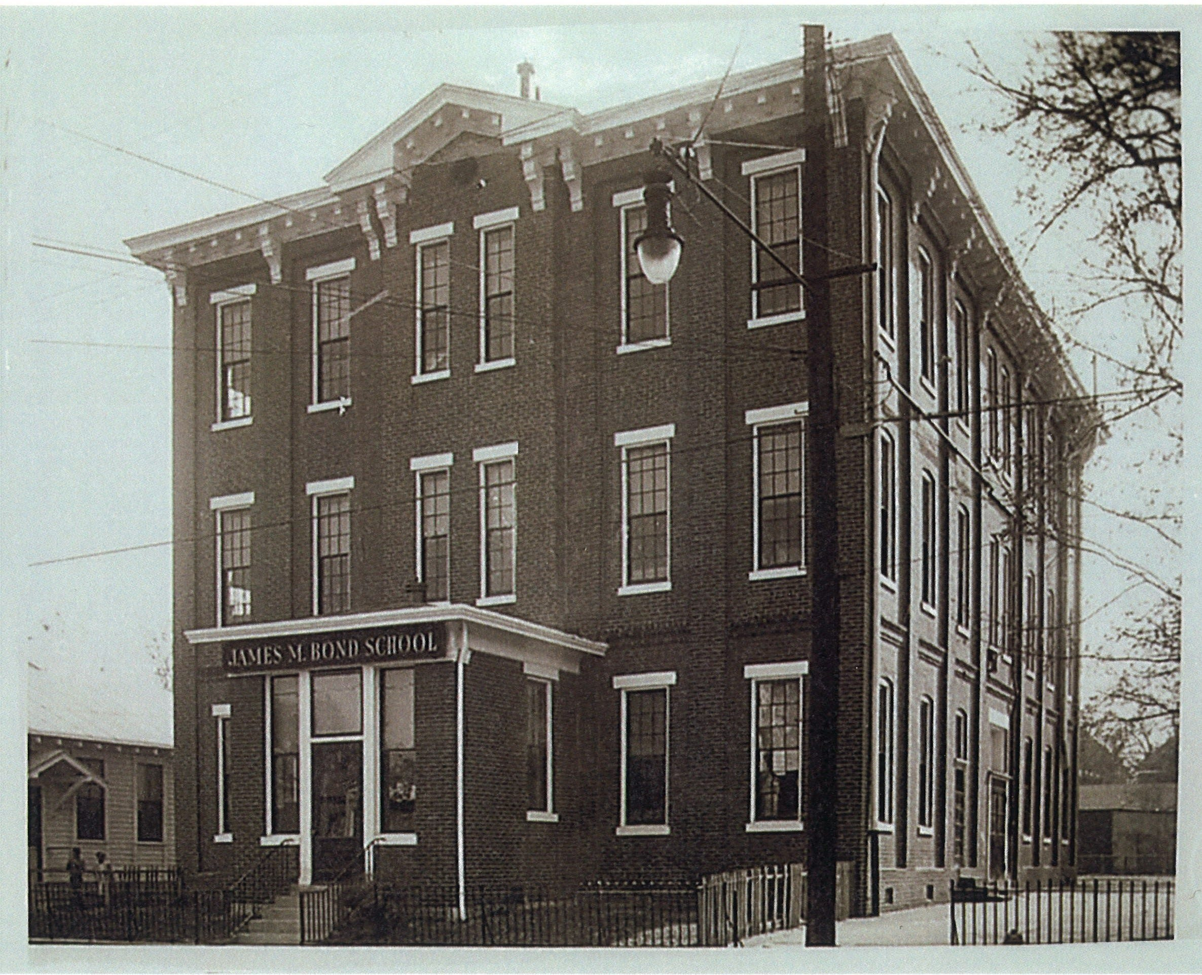 The James M. Bond School once stood at 2300 Cedar St. in west Louisville. The school, which closed in 1960, was named after a Black Kentuckian who devoted his life to advancing civil rights for African Americans, including access to quality education.