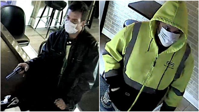 West Allis police have released images of two suspects wanted in connection with the Jan. 31 armed robbery of the Barcode pub, 2110 S. 60th St.