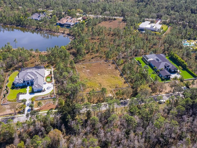 One of the last remaining fully-prepped, pre-construction homesites at Naples Club Estates is awaiting its new resident.