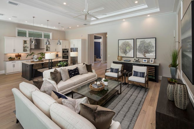 Genova model at Esplanade Lake Club priced at $3,084,000 furnished is now open for viewing and purchase.