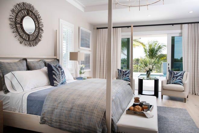 Captiva model at Hill Tide Estates showcases an interior created by Theory Design's Vice President of Design Ruta Menaghlazi.