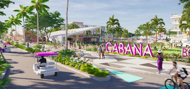 Cabana Resort Great Food Hall.