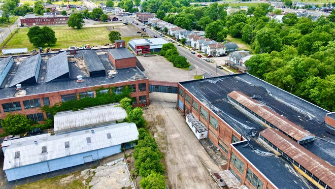 A development is planned for the former Westinghouse and Mid-State property on West Main Street in Newark.