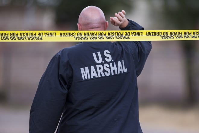 Justin Walters, 29, fled the country after being questioned by Phoenix police, and was found in Chicago, according to the U.S. Marshals Service.