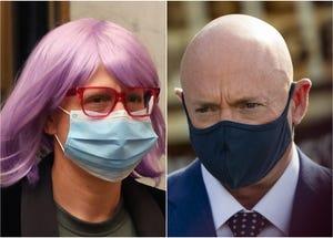 Arizona Senators Kyrsten Sinema and Mark Kelly