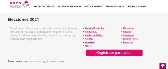 Para las elecciones de 2018, el INE abrió por primera vez el voto para senadores locales y gobernadores a los votantes en el extranjero, pero no despertó mayor interés en los migrantes mexicanos en EE. UU.