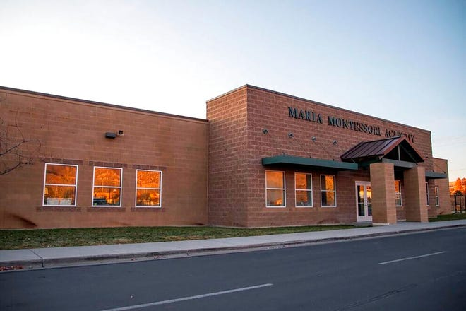 Maria Montessori Academy, a public charter school in North Ogden, Utah, is pictured on Tuesday, Dec. 17, 2019. Parents who sought to opt out their children from learning Black History Month curriculum at the charter school have withdrawn their requests. The Standard-Examiner reported that the academy experienced a public backlash after announcing plans to make participation optional. (Ben Dorger/Standard-Examiner via AP)