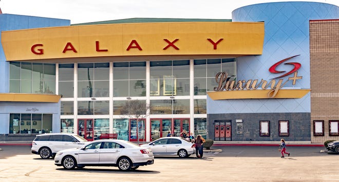Galaxy Theatres at Tulare Outlets on Monday, February 8, 2021.