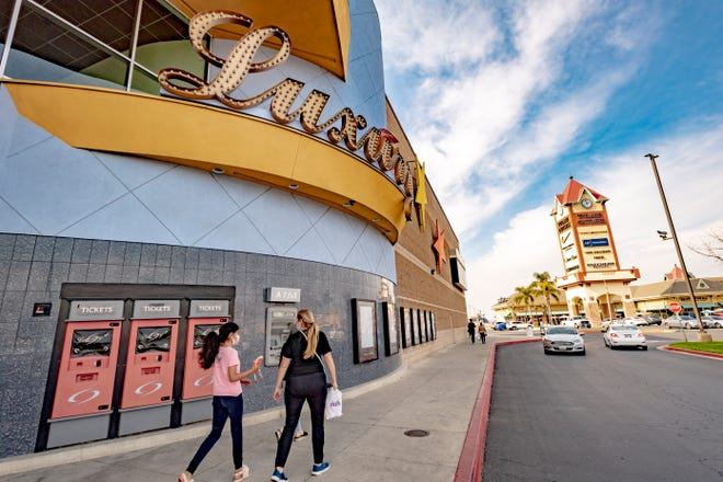 Tulare County moviegoers returned to Galaxy Theaters Tulare on Friday. The popular cinema began screening movies for the first time in more than a year this week.