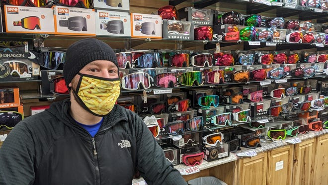 Sam Ziv, a Breckenridge ski instructor who moonlights at Sun Logic, said skiers and snowboarders are enjoying the outdoors in winter.