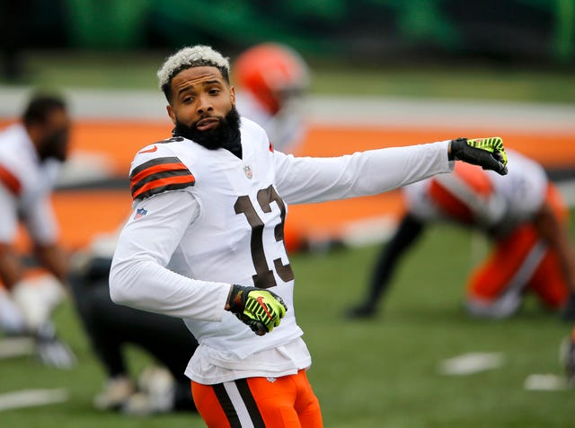 7. Browns (9): Finally headed in a productive direction, they'll have to ask themselves whether they're a better team with or without WR Odell Beckham Jr. moving forward.