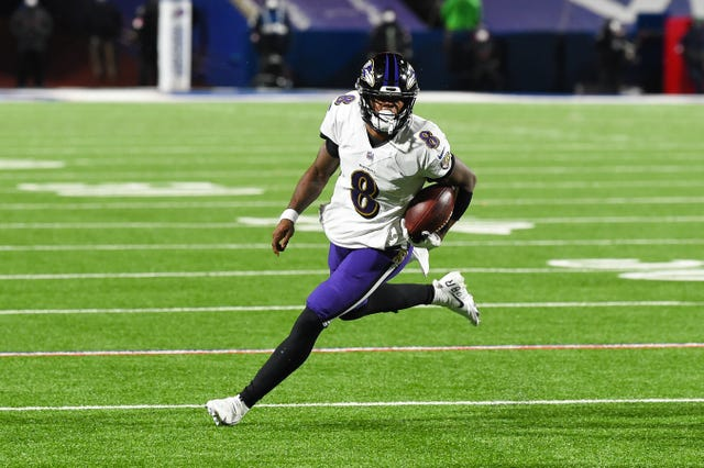 6. Ravens (5): Next orders of business? Extending QB Lamar Jackson's contractand getting him a No. 1 receiver ... though maybe not in that order.