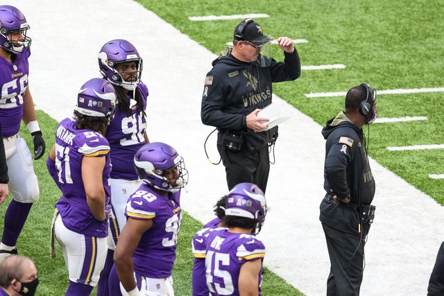 22. Vikings (21): Getting Danielle Hunter (neck) and Michael Pierce (opt-out) back on the D-line in 2021 should immediately begin solving a lot of problems.