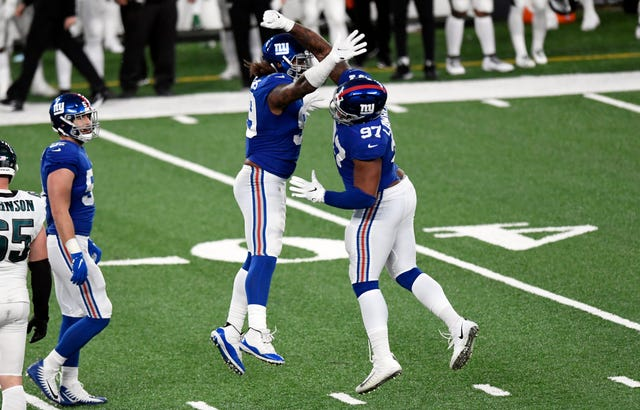 25. Giants (22): DL Leonard Williams was probably their best player in 2020, but can New York afford to franchise him again given how much the offense needs?