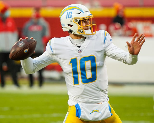 17. Chargers (18): It's been an electric rise for new head coach Brandon Staley, though he'll have to be careful not to short-circuit rookie of the year Justin Herbert's development after his 2020 coaching support group was stripped away.