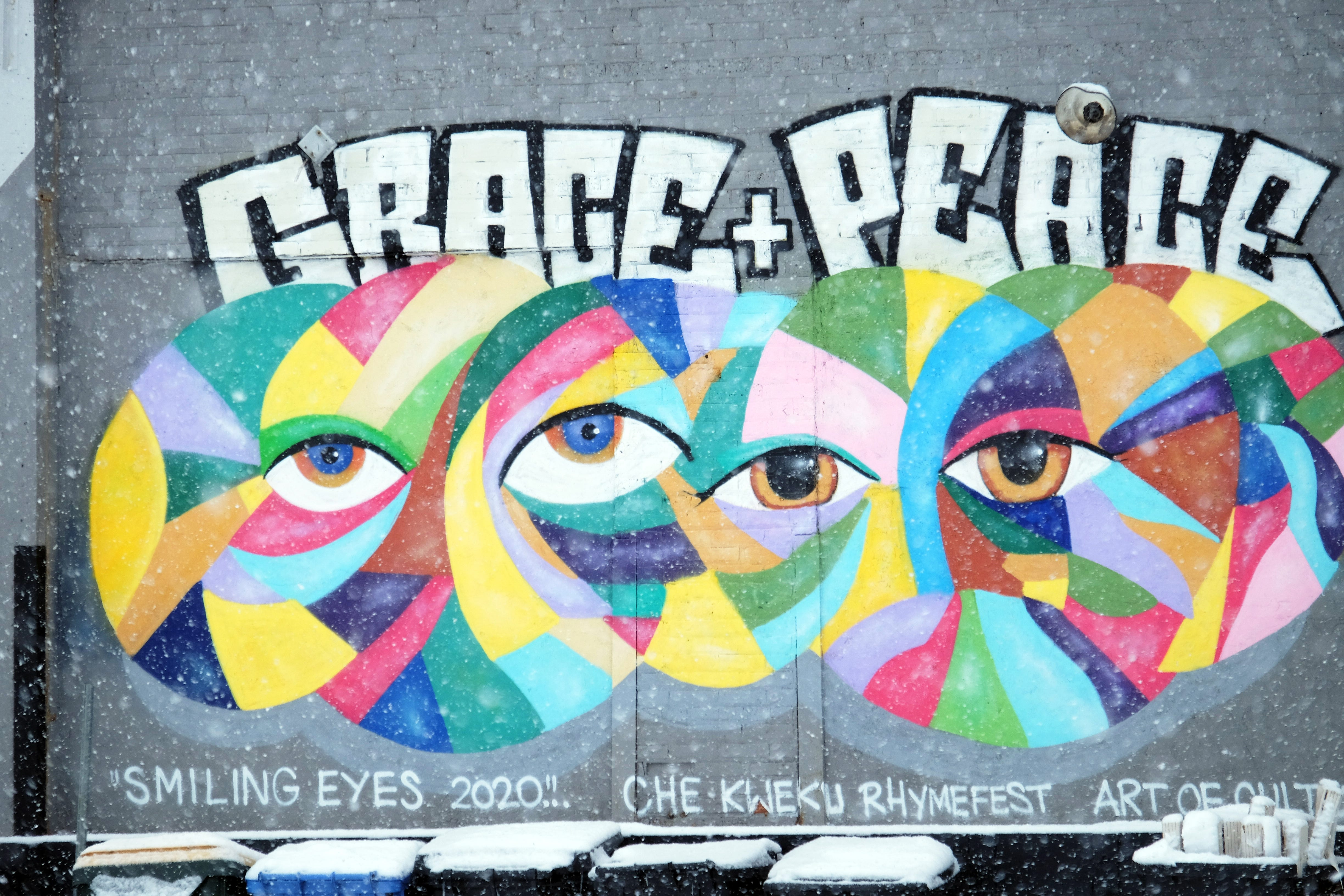Grace and Peace Church on Chicago's northwest side turned into a food bank.