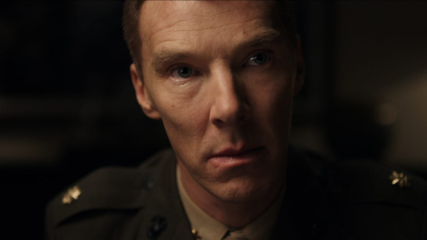 Benedict Cumberbatch battled the nastiest flu and a fake crew cut to lawyer up for 'The Mauritanian' - USA TODAY