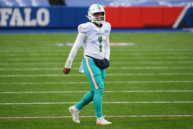 12. Dolphins (12): They've got two offensive coordinators, two first-round picks, two really good corners ... but need to find out if they have one really good QB.