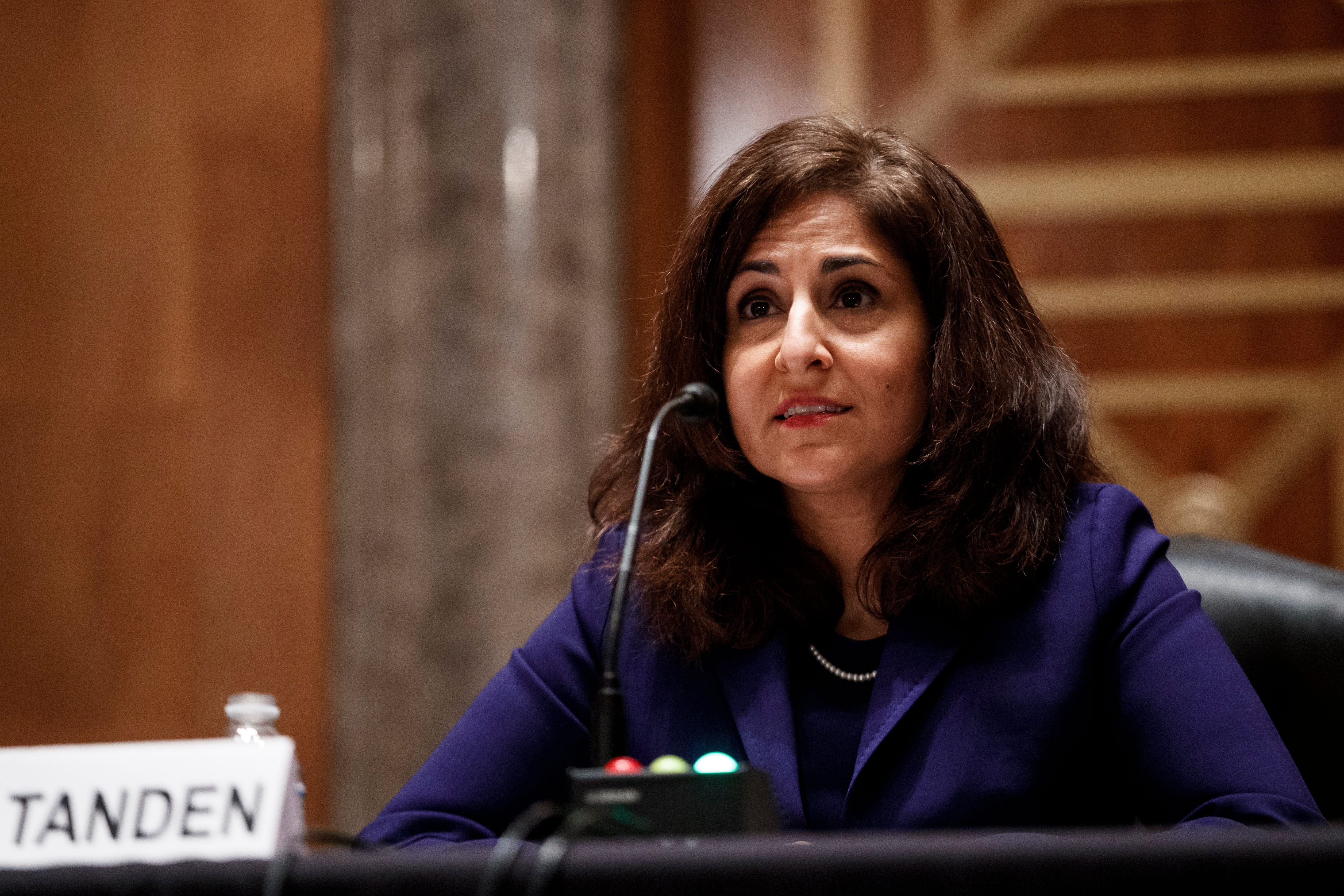 Panels postpone vote on Neera Tanden, Biden s controversial pick for budget chief