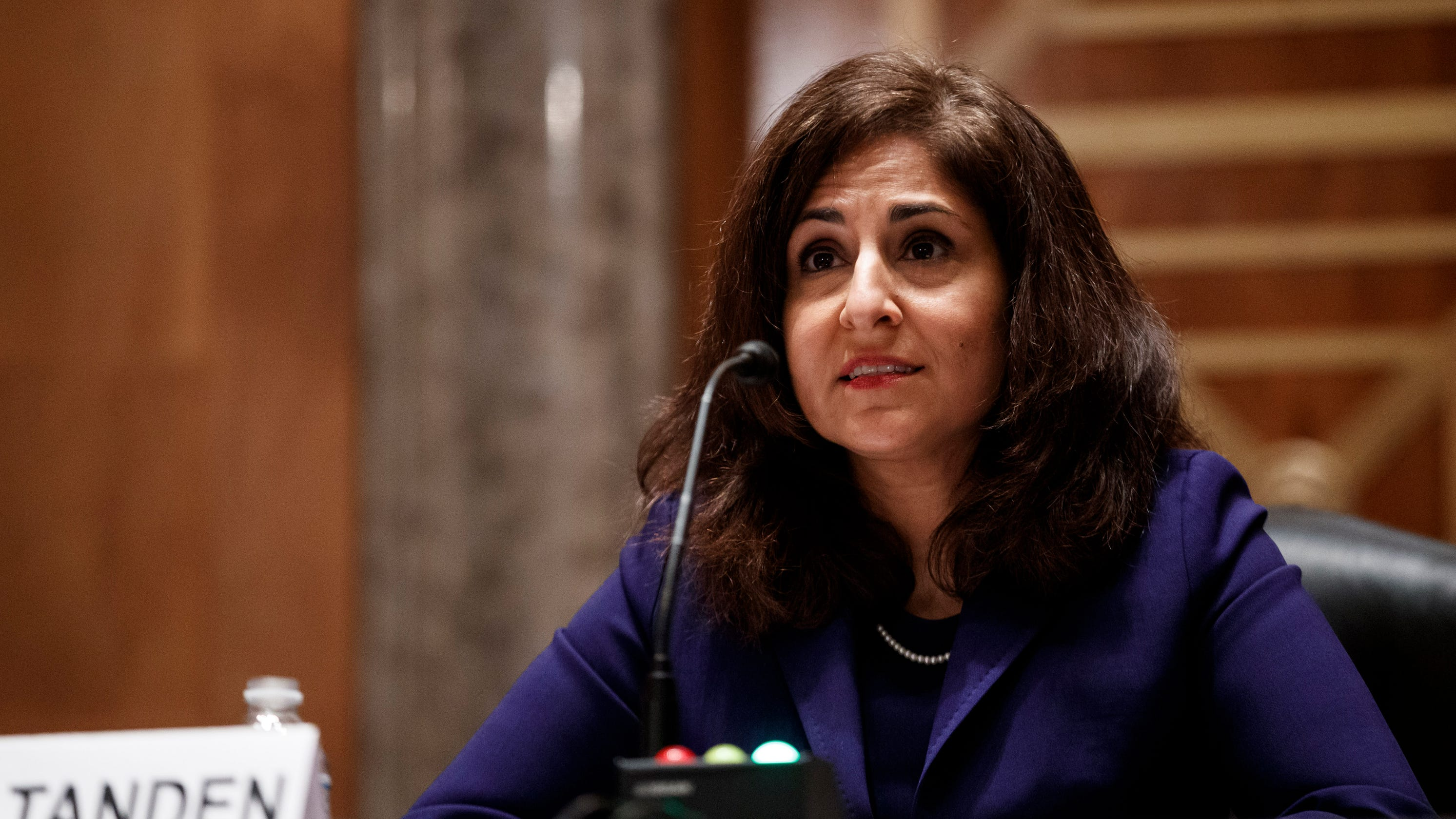 Biden budget pick Neera Tanden drops out of nomination process after confirmation process unravels