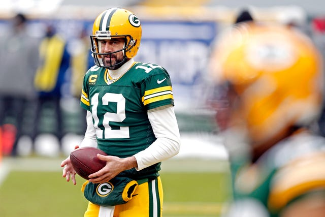 2. Packers (2): They seem recommitted to Aaron Rodgers, now a three-time league MVP ... but what will GM Brian Gutekunst do to help his QB, who could lose RB Aaron Jones to free agency?