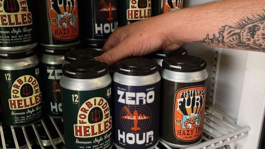 Willard's Brewing opened in North Austin last fall.
