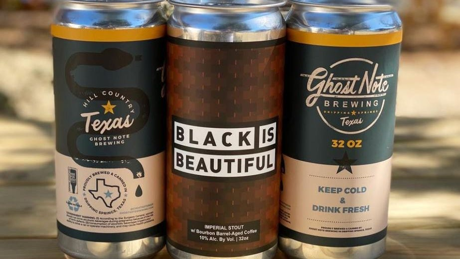 Ghost Note Brewing opened in early February with a menu that includes a Black is Beautiful imperial stout.