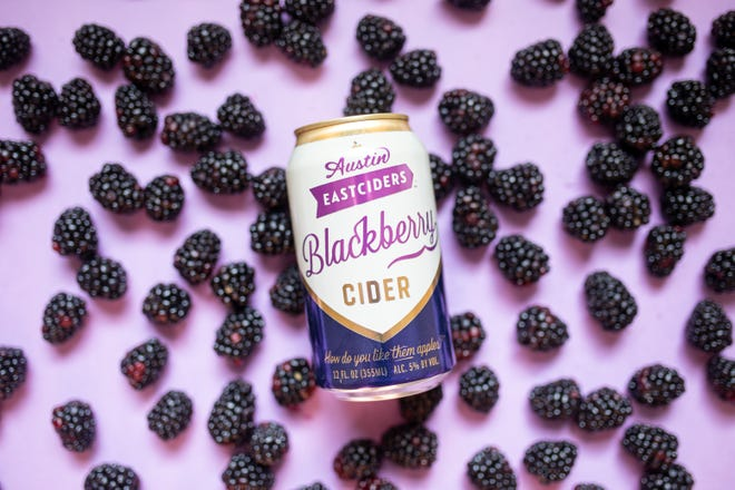 Austin Eastcider's newest flavor is blackberry.