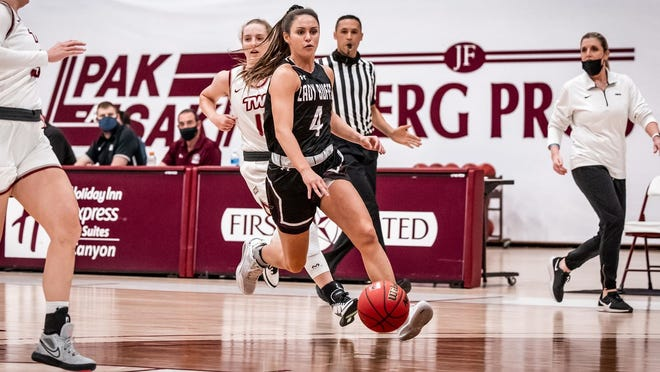 WT's Lexy Hightower led the way offensively for the Lady Buffs as the senior went 3-of-10 from the floor and a perfect 9-of-9 from the free throw line for a team-high 16 points in Tuesday's 52-44 victory over the Texas Woman's Pioneers.