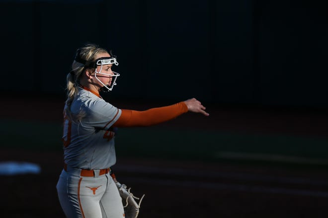 Texas pitcher Miranda Elish was Softball America's national player of the year last season when she went 11-3, beat No. 1 UCLA on the road and pitched a perfect game against New Mexico. But she has opted to not play her final season this spring, citing concerns over the pandemic.