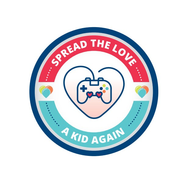 A Kid Again logo
