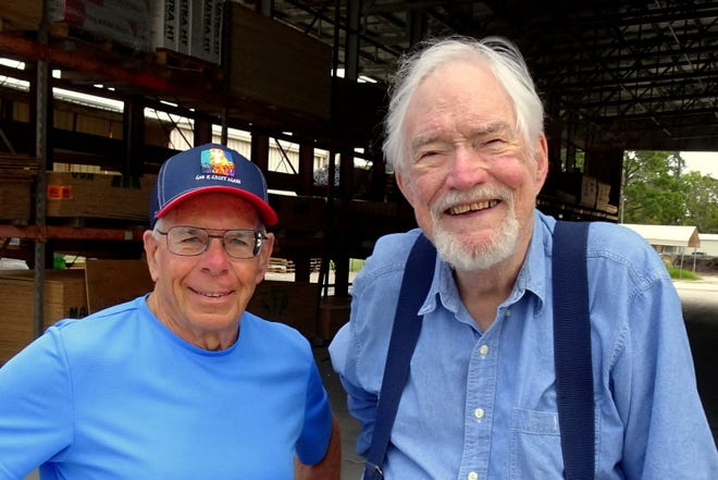 Tom Vrhovnik, left, and his best friend Tom Loughridge