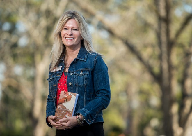 """Paige McLemore, the principal at Augusta Christian Schools, lost her sister in a 1988 slaying. It took years, but """"after I forgave the man that murdered my sister, my life changed for the better,"""" she said."""